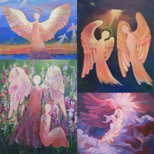 Eņģeļu gleznas